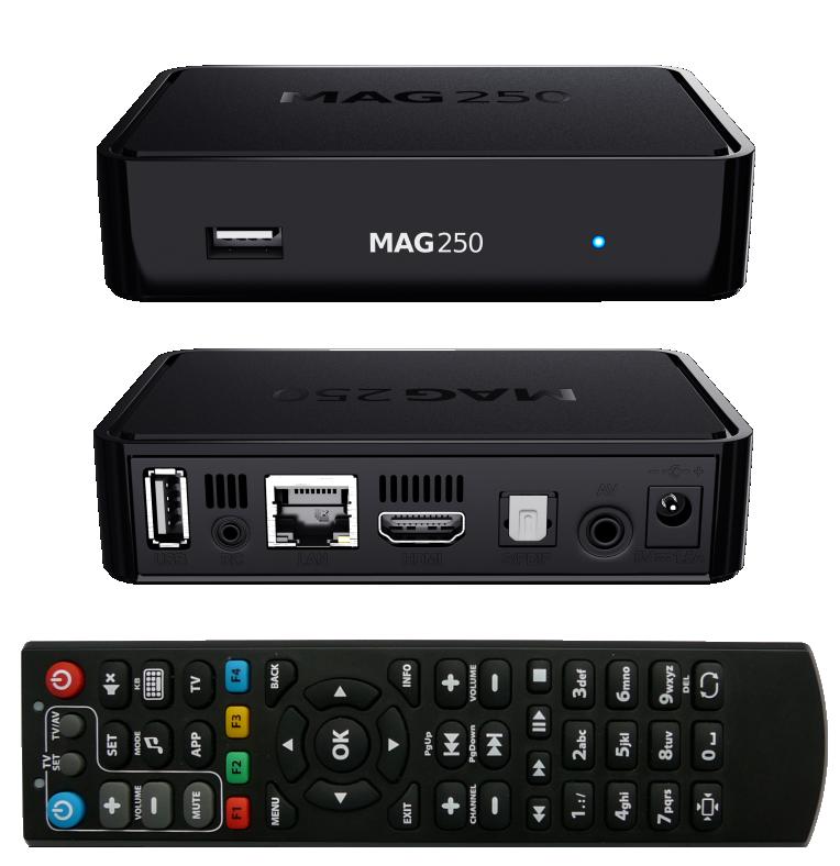 Телевизионная приставка MAG 245/250